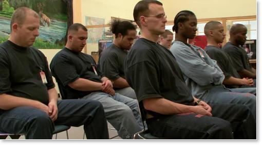 Transzcendentális Meditációt gyakorló elítéltek