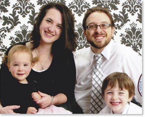 Brian Baker és családja