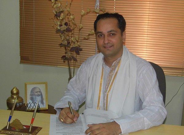 Vaidya Saurabh Sharma Maharishi Ájurvéda orvos