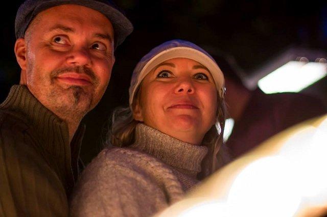 Tóth Zoltán és felesége, Tóth Ágnes