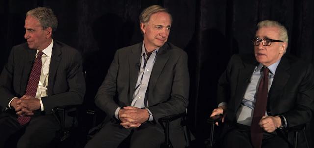Bob Roth (b), Ray Dalio (k), Martin Scorsese (j).