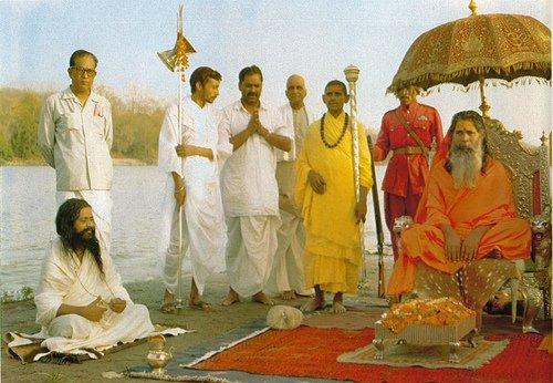 Maharishi Sankarácsárja Shantanandával